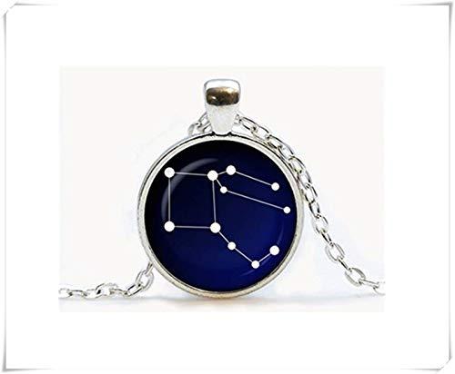 Pegasus Sternbild Glasanhänger Night Sky Halskette Sterne, Astronomie, Raumschmuck, Geburtstagsgeschenk, ein schönes Geschenk.