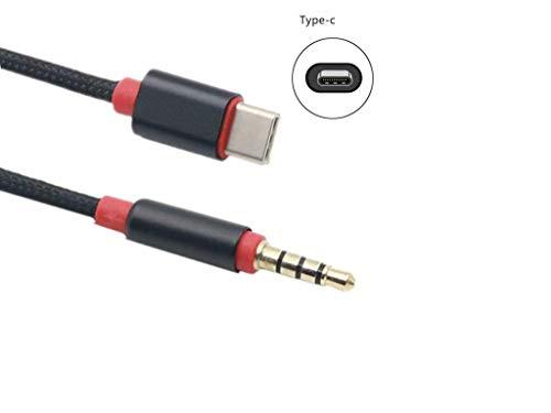 YOUBO USB 3.1 Type C Male To 3.5mm Male Earphone Audio AUX...