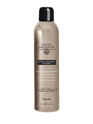 Nook Lacca VOLUMIZZANTE fissativa Spray Secret Volumizing Hair Spray níquel níquel cromo...
