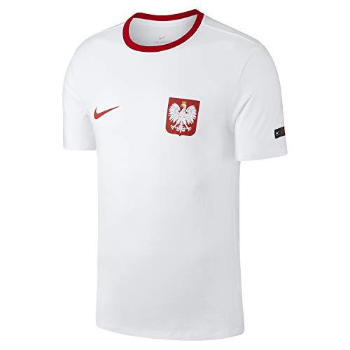 Nike 2018-2019 Poland Crest Tee (White)