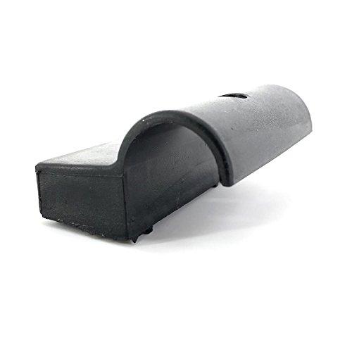 Cortassa, Innesto A Cappuccio in Plastica MOD.10 - Porta Listello – Ricambio per Doghe 9Pz