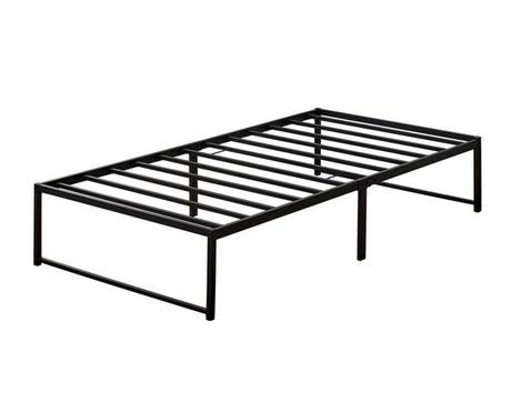Queen Size Platform Bed Frame Metal No Need for Box Spring,Slats Support No Headboard (King)