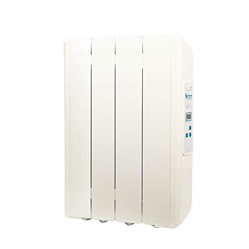 farho Radiador Electrico Eco-X Ultra 660W (4) · Emisor Térmico con Termostato Digital Programable 24/7 · Radiadores Electricos Bajo Consumo para estancias de hasta 10 m² · 20 AÑOS DE GARANTÍA