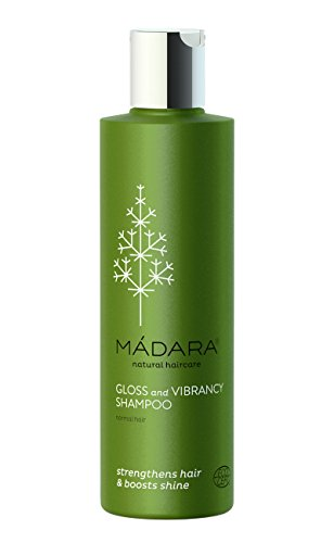 MADARA COSMETICS GLOSS AND VIBRANCY SHAMPOO, 250 ml