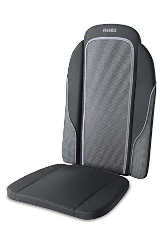 4beauty Full Body Back Seat Massager Cushion Shiatsu Massage Chair for Home, Office, Car