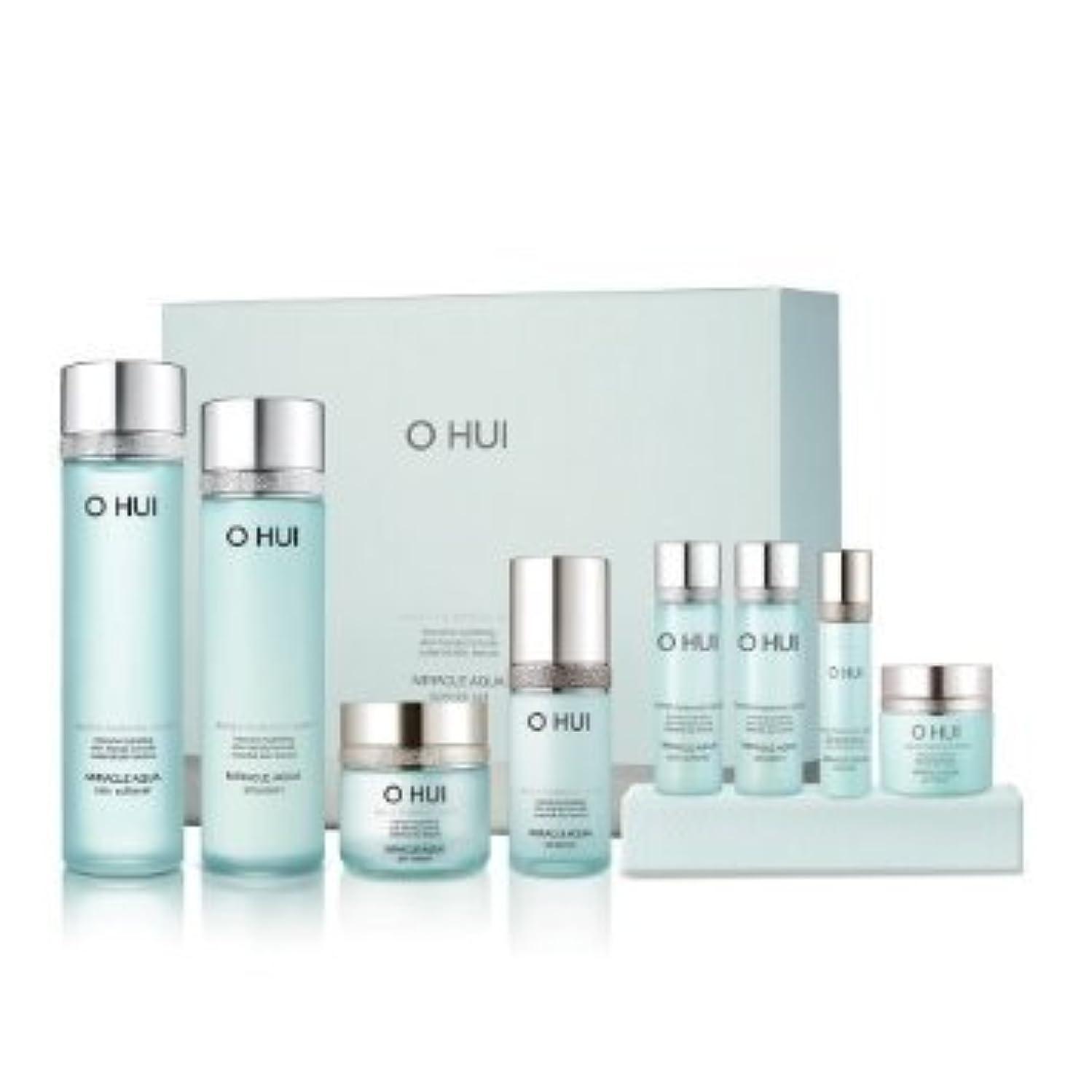悪夢慢な間接的Ohui Miracle Aqua Basic 4-piece Special Gift Set[行輸入品]