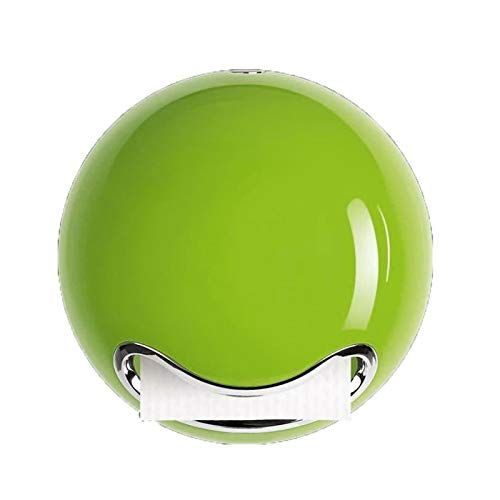 """Spirella WC Rollenhalter Toilettenpapierhalter""""Bowl"""" zum kleben oder bohren Grün"""