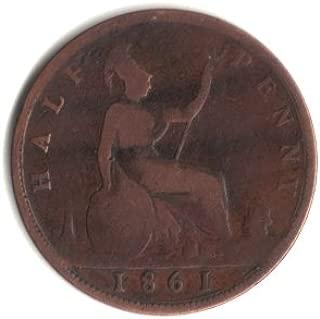 1861 half penny