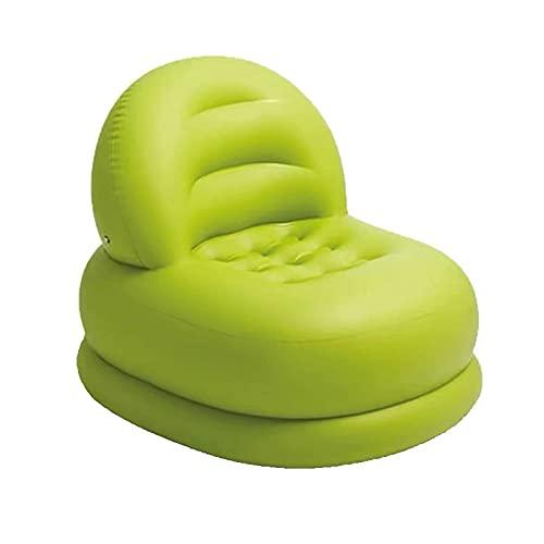 Auink Puf Inflable Silla Plegable Impermeable para Interiores y Exteriores, sillón reclinable con Respaldo Alto, puf clásico puf para Adultos en el Mercado, sillón reclinable de Ocio para Adultos
