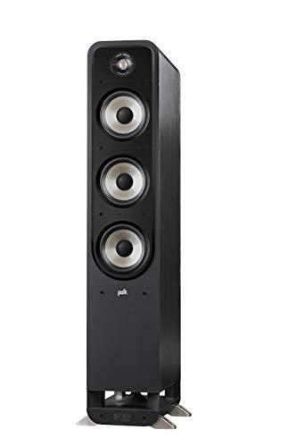 Polk Audio Signature S60E Standlautsprecher, HiFi Lautsprecher für Musik und Heimkino Sound, passiver Full Range Lautsprecher, 20 - 300 Watt, 8 Ohm, High Res, 36Hz - 40kHz (Stück)