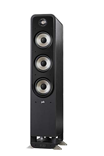 Polk Audio Signature S60E - Altoparlante HiFi per musica e home theatre, altoparlante passivo Full Range 20-300 Watt, 8 Ohm, High Res, 36 Hz - 40 kHz (pezzi)