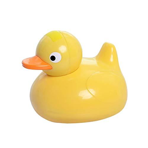 Mini altavoz IPX6 Altavoz inalámbrico resistente al agua Baño Forma de pato Estéreo Caja de sonido Herramienta para niños (amarillo) ESjasnyfall
