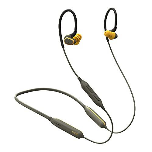 Elgin Rumble Bluetooth Earplug Earbuds, 27 dB Noise Reduction Wireless...