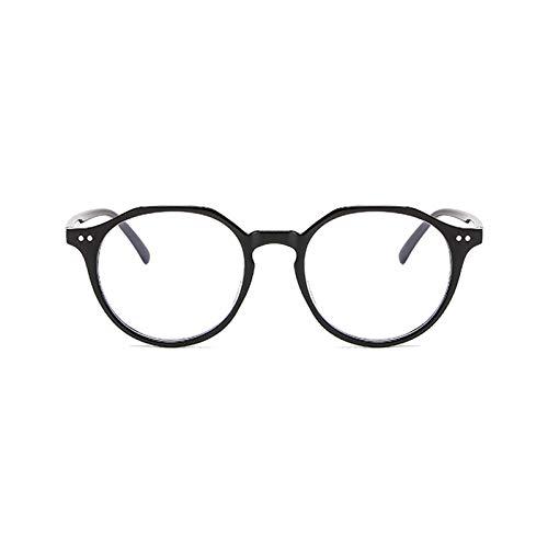 BUZHIDAO Gafas antirrayos para hombre y mujer, con filtro azul, para pantalla o adolescente, con filtro de luz azul, para mujeres y hombres, color Negro, talla Einheitsgröße