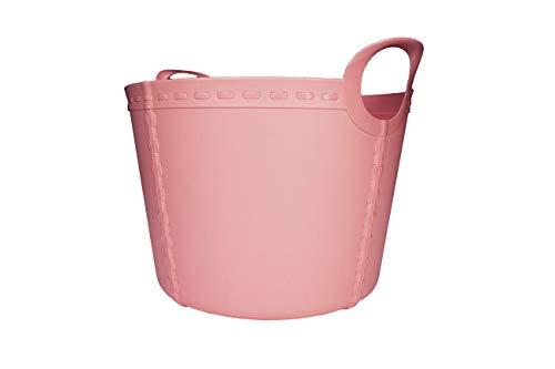 SP Berner - Barreño Grande | Cubo de Plastico con Asas - 15 litros - Rosa