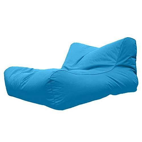 Sofá Inflable Al Aire Libre Impermeable beanbag laybag Bolsa de Frijol Flotante Bolsa de Aire sofá Bolsa de Frijoles Darkblue