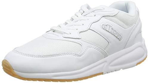 ellesse Herren Nyc84 Sneaker, Weiß (White/White Wht/Wht), 40.5 EU