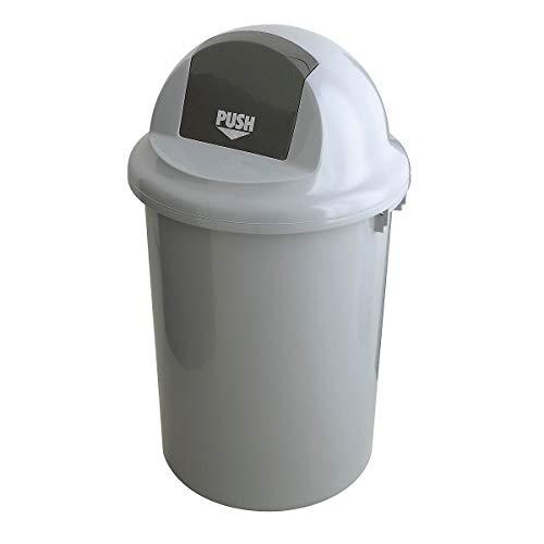 Abfallsammler, mit Klappdeckel, Kunststoff, Inhalt 90 l