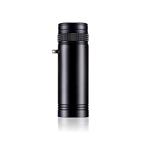 Great Features Of SPLY DTEM HD Low Light Night Vision Monocular, Metal Mini Pocket Telescope (Color : Black)