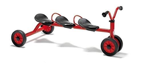 Unbekannt Viking Mini Rutsch Dreirad für DREI (Alter: 1-3 Jahre / Lenkerhöhe 41 cm / Sitzhöhe 24 cm) von Winther