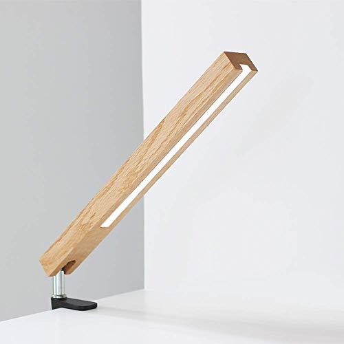 Preisvergleich Produktbild LED Klemmleuchten,  Einzigartiges Design Einstellbarer Winkel, Energiesparen Aus Holz Leicht Und Widerstandsfähig,  Schreibtischlampe,  Leselicht,  Tischleuchte,  Lampe Arbeit, Schreibtisch Büro