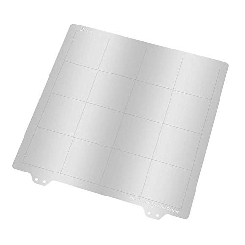FYYONG Computer Accessories, 3D Printer Part 220 220mm Spring Steel Sheet Heated Bed Platform for RepRap i3 Ender-3/Wanhao/Anet A8 MK3