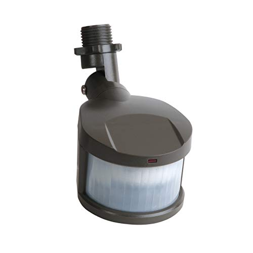 EATON Lighting MS180 180 Degree Replacement Motion Security Floodlight Sensor, Bronze