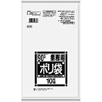 【ケース品】日本サニパック N-99 業務用スタンダードポリ袋 透明 90L (10枚x20冊)