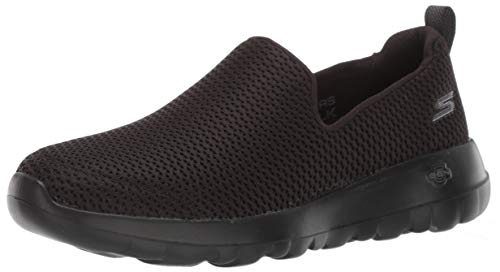 Skechers womens Go Joy Walking Shoe, Black, 9.5 Wide US