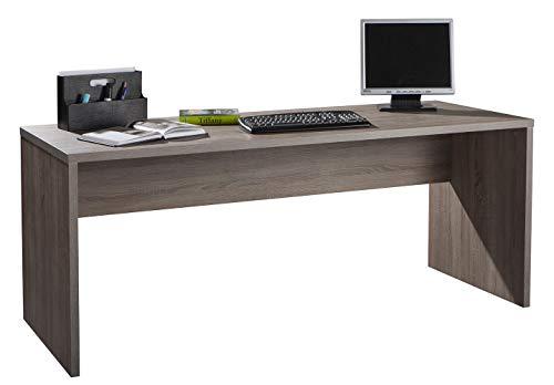 Amazon Marke - Movian - Schreibtisch, 178 x 74,5 x 69cm, Dunkle Eiche
