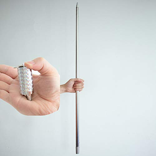 43-1/4' Magician Metal Appearing Cane with Free Gloves and Video Tutorial Stage Magic Tricks