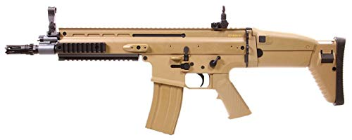 FN Scar L Tan Cybergun ABS/Farbe Wüste/elektrisch (0,5 Joule), Halb-/Vollautomatik