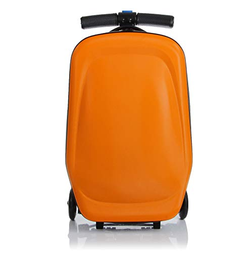 20 inch Scooter Suitcase Ride-on Travel Trolley Luggage for Travel, School and Business