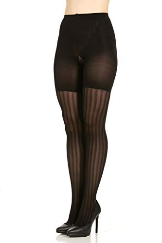 SPANX Assets Red Hot Label Textured 3-Stripe Mesh Shaping Tights - 2056 (3)