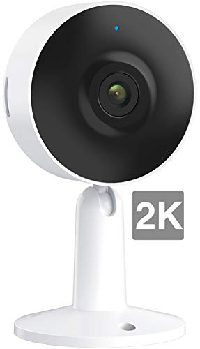 ARENTI 2K HD Video Baby Monitor, IN1T WiFi Pet Camera Home Security IP Camera, 2.4GHz Nanny Cam with Sound and Motion Detection, Night Vision, Two Way Audio, Alexa & Google Assistant Compatible