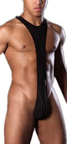 GUKOO Herren Sexy Tank Tops Unterwäsche Bodysuit Nachtwäsche Jumpsuits Strings Tangas Thong Shorts Boxershorts