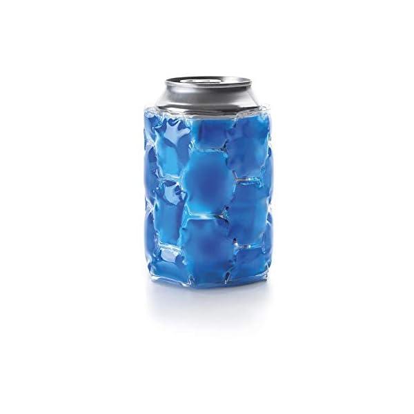 IBILI 739700Enfriador latas dispensador 2U plástico Azul 12x 2x