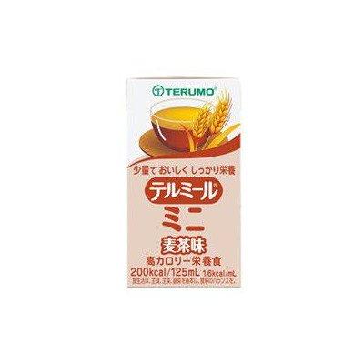 テルミールミニ 麦茶(むぎちゃ)味 125ml×12個 【栄養機能食品(ビタミンB1)】 テルモ [その他]