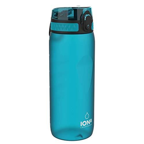 Ion8 Borraccia Bici Senza Perdite, Senza BPA, 750ml, Acqua