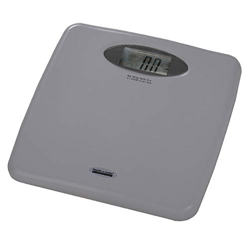 Health o meter 844KL High Capacity Digital Bathroom Weight Scale with 1.5 in. LCD, 440 lb x 0.1 lb
