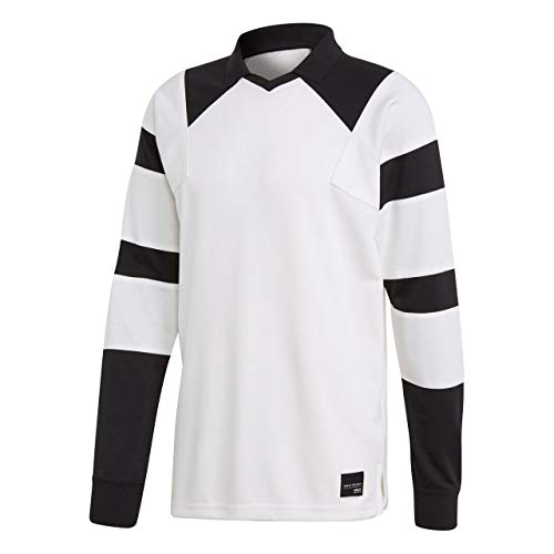 adidas Herren EQT Football Longsleeve, Cwhite/Cwhite, L