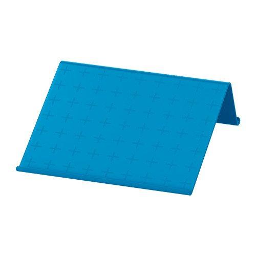 IKEA ISBERGET Tablet-Halter in blau; (25x25cm)