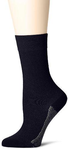 Hudson Damen Relax Cotton Dry Socken, Blau (MARINE 0335), (Herstellergröße: 39/42)