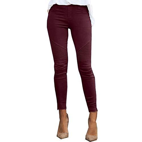 WANC Pantalones De Cintura Alta para Mujer Leggings Delgados OtoñO 2021 Mujeres Atractivas Moda Casual Jogger Pantalones EláSticos Vi Pantalones De Serpiente