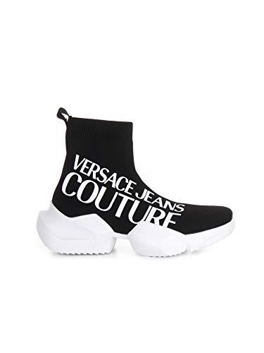VERSACE JEANS COUTURE E0 YWASU3 71930 Hohe Sneakers für Herren, - Schwarz - Größe: 42 EU