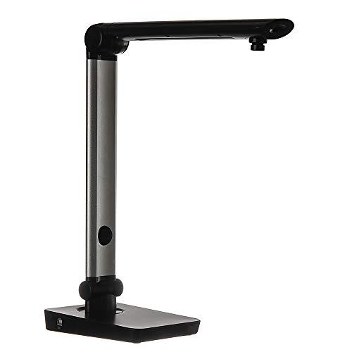 Longjoy Digital Portable Rotatable for All Dimension USB Document Camera LV-1 Series LV-1020(Black)