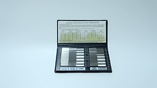30 Piece Specimen Comparator&Roughness Comparator (30 pcs/Set) of Roughness Tester