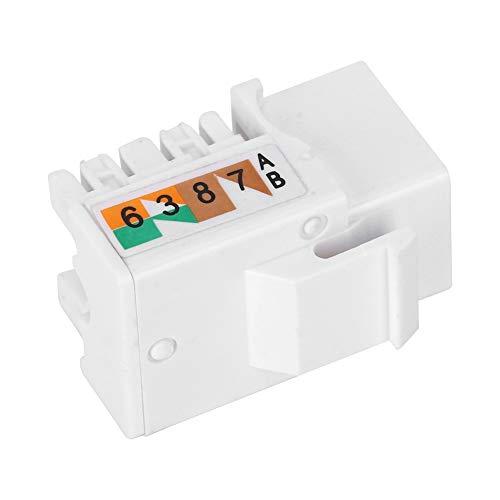 [[1] ] Módulo RJ45 fuerte, módulo RJ45, componente electrónico para conexión de enchufe de comunicación Conexión de red Ingeniería para mejorar el hogar Área de trabajo