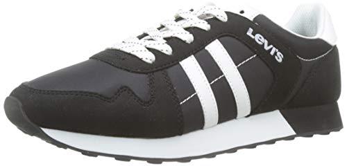 Levis Footwear and Accessories Webb, Zapatillas para Hombre, Rojo (Medium Red 86), 45 EU