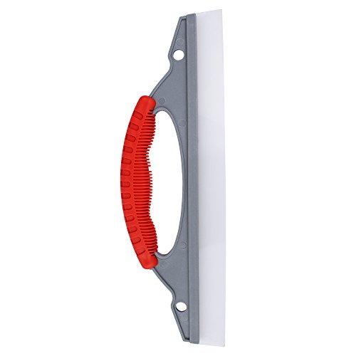 Escobilla de goma de silicona premium de Bonorum - perfecta para el secado rápido de coches, duchas o ventanas - hoja flexible extra-ancha de 30 cm